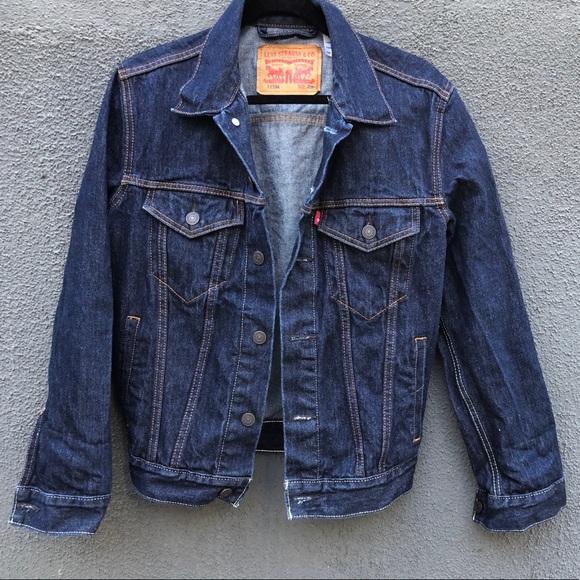 Classic Levi's denim jean jacket